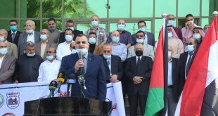 وقفة شعبية حاشدة في الذكرى 64 لمذبحة خان يونس